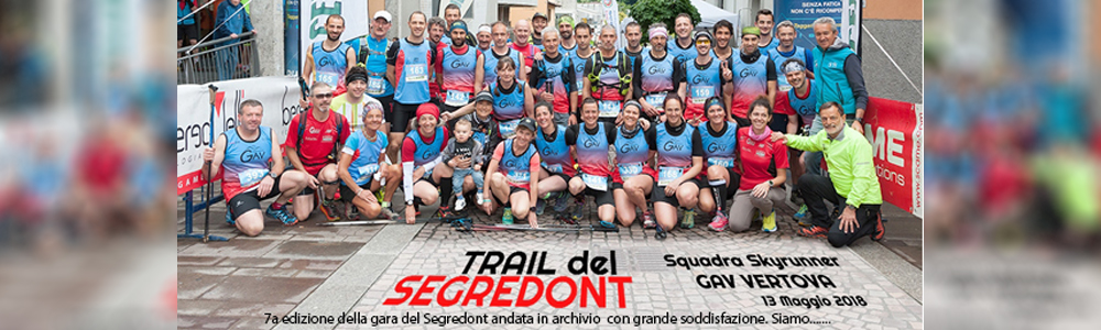 trail segredont 2018 fine gara